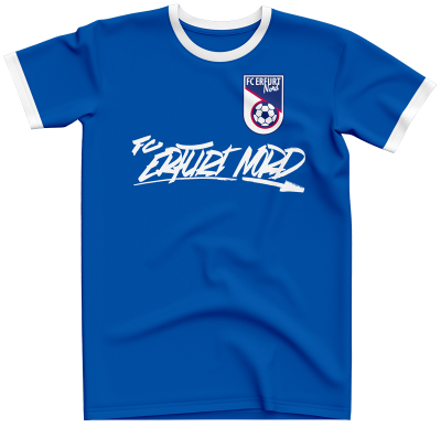 T-Shirt Graffiti Tag | royal - FC Erfurt Nord